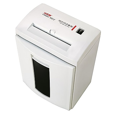 HSM Classic 102.2CC Cross-Cut Shredder, 7 Sheets Capacity
