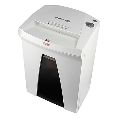 HSM Securio B24 HS L6 Cross-Cut Shredder, Shreds up to 8 Sheets Capacity