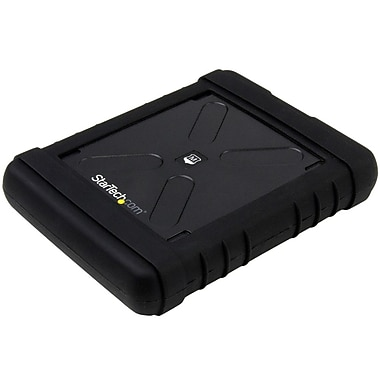 StarTech.com Rugged Hard Drive Enclosure, USB 3.0 to 2.5