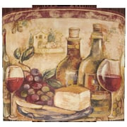 Illumalite Designs 13'' Wine Still Life Polystyrene Drum Shade