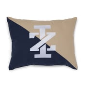IZOD Classic Stripe IZ Logo Embroidered Throw Pillow
