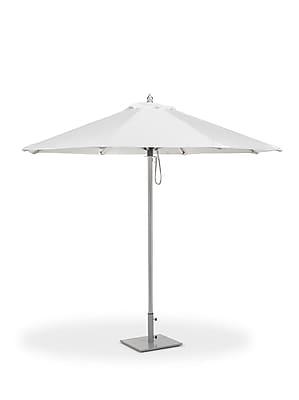 Oxford Garden 9' Oxford Market Umbrella; Natural WYF078277744893