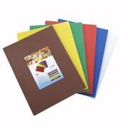 Winco Cutting Board (Set of 6); 12'' L x 18'' W x 0.5'' D