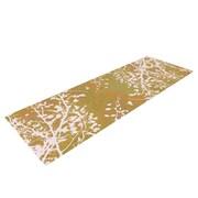 KESS InHouse Twigs Silhouette by Iris Lehnhardt Yoga Mat; Neutral