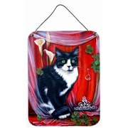 Caroline's Treasures Cat Aluminum Hanging Painting Print Plaque