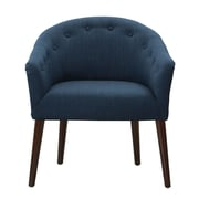 Madison Park Camilla Barrel Chair; Navy