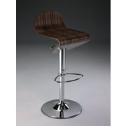 Creative Images International Adjustable Height Swivel Bar Stool with Cushion