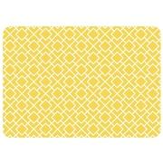 Bungalow Flooring Premium Comfort Tazekka Doormat; Yellow