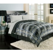 Royale Linens Jameson Comforter Set; Queen