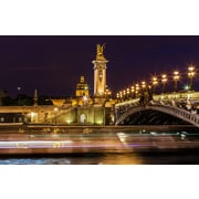 PrestigeArtStudios Alexandre III Bridge - Paris Photographic Print