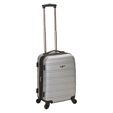 Rockland Melbourne 20'' Rolling Carry On; Silver