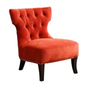 Abbyson Living Cole Club Chair; Sangria Orange