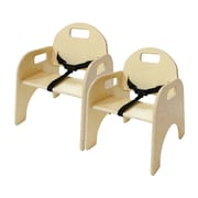 Wood Designs Wood Classroom Chair  (Set of 2); 9''