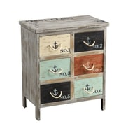 Coast to Coast Imports 6 Drawer Accent Chest