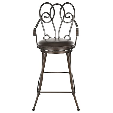 Safavieh Montrouge 30.5'' Swivel Bar Stool with Cushion
