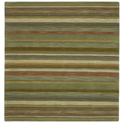 Kaleen Tara Squared Twilight Natural Area Rug; Square 5'9''