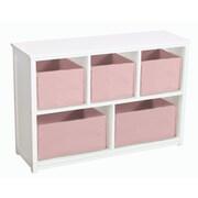 Guidecraft Classic White 24'' Bookcase