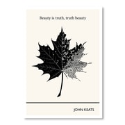 Americanflat Beauty is Truth Graphic Art