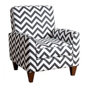 Abbyson Living Mila Chevron Arm Chair
