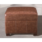NOYA USA Classic Storage Ottoman; Medium Brown