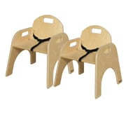 Wood Designs Wood Classroom Chair  (Set of 2); 11''