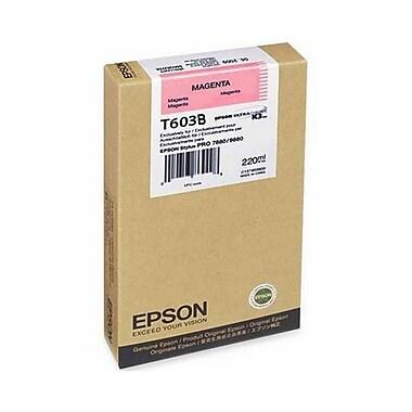 Epson T603B (T603B00), Magenta Ink Cartridge, Standard Yield