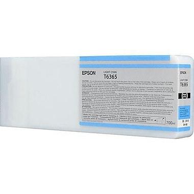 Epson T6365 (T636500), Light Cyan Ink Cartridge, High Yield