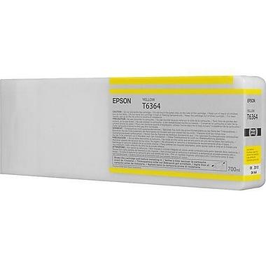 Epson T6364 (T636400), Yelllow Ink Cartridge, High Yield