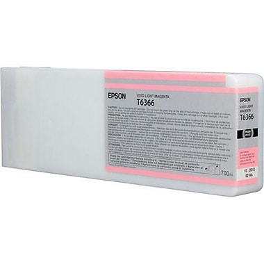Epson T6366 (T636600), Vivid Light Magenta Ink Cartridge, High Yield