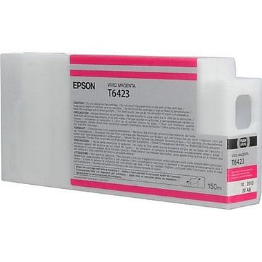 Epson T6423 (T642300), Vivid Magenta Ink Cartridge, Standard Yield