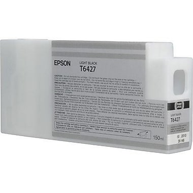Epson T6427 (T642700), Light Black Ink Cartridge, Standard Yield
