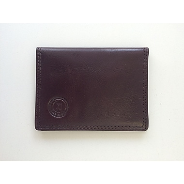 Club Rochelier Transit Pass Holder, Mahogany