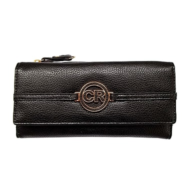 Club Rochelier Slim Clutch Wallet, Black