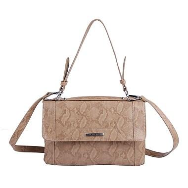 Club Rochelier Shoulder Bag with Adjustable and Detachable Shoulder Strap, Sand