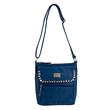 Club Rochelier Studded Crossbody Bag, Navy