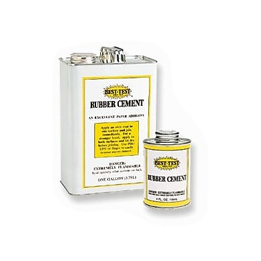 Union 0040305 Rubber Cement, 1L
