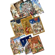 Alexander Taron Sellmer Large Assorted Advent Calendars (Set of 12)