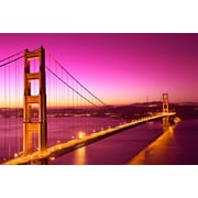 PrestigeArtStudios Golden Love Bridge Photographic Print