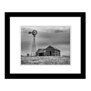 PrestigeArtStudios Little House on the Prairie Framed Photographic Print