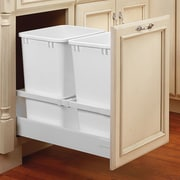 Rev-A-Shelf 18'' Servo Double 35 Quart Pullout Waste Container