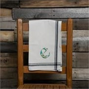 Glory Haus E Initial Tea Towel
