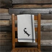 Glory Haus F Initial Tea Towel