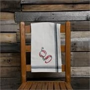 Glory Haus G Initial Tea Towel