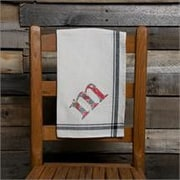 Glory Haus M Initial Tea Towel