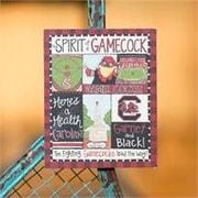 Glory Haus South Carolina Spirit Magnet Graphic Art