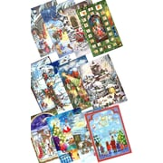 Alexander Taron Sellmer Small Assorted Advent Calendars (Set of 12)