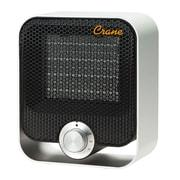 Crane Aluminum Ceramic Personal Heater Black (EE-6490)