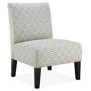 DHI Brice Slipper Chair in Stone