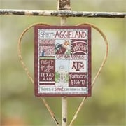 Glory Haus Texas A and M Spirit Magnet Graphic Art