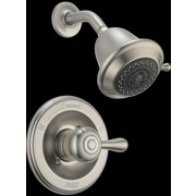 Delta Leland Monitor  Shower Faucet Trim; Stainless